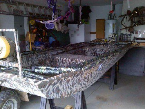 Duck Boat Blind Ideas Duck Pinterest Duck Boat