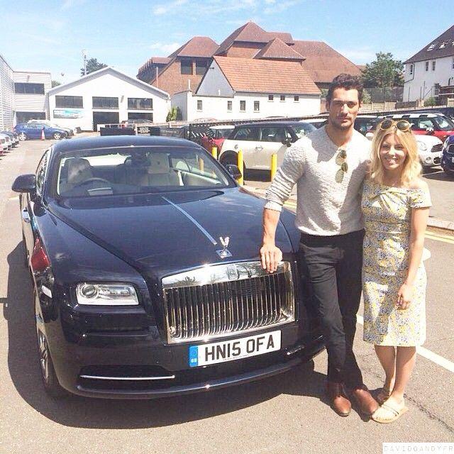 David Gandy & Mollie King (04/06/2015)
