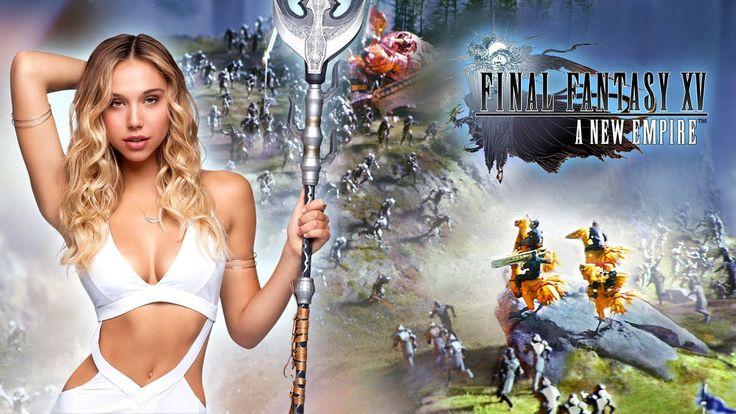 Final Fantasy XV: A New Empire - Alexis Ren in Alliance