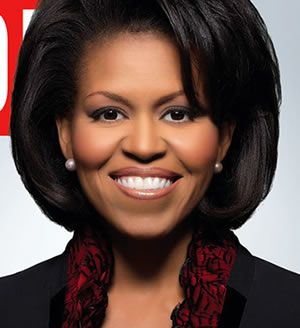 First Lady http://blog.reidreport.com/2011/01/and-happy-birthday-gorgeous-michelle-obama-turns-47/