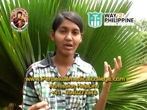 Study MBBS in Abroad / Philippines Perpetual Medical College Manila Student Testimonial