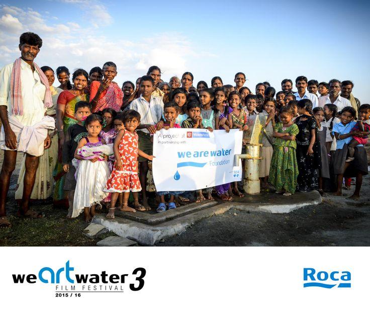 Fundacja We Are Water po raz kolejny organizuje konkurs krótkich form filmowych. Przyłącz się :) Rejestracja do 26 lutego na http://www.wearewater.org/en.