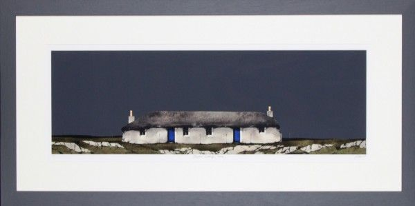 Ron Lawson, Sheila's Cottage, Ulva. Signed Limited Edition print | Scottish Contemporary Art