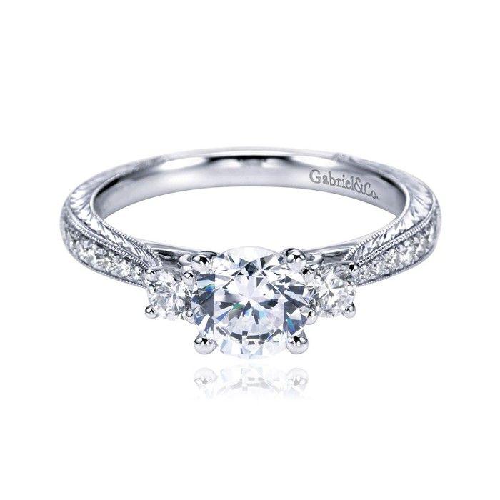 Gabriel & Co. - Engagement Ring. $1,628.
