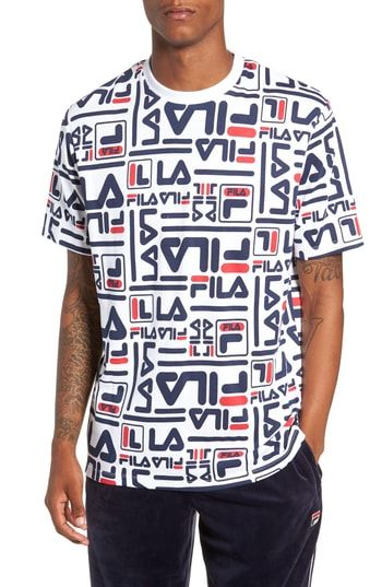 891bf59b4380 FILA CHARLIE ALLOVER PRINT T-SHIRT. #fila #cloth | Fila in 2019 ...