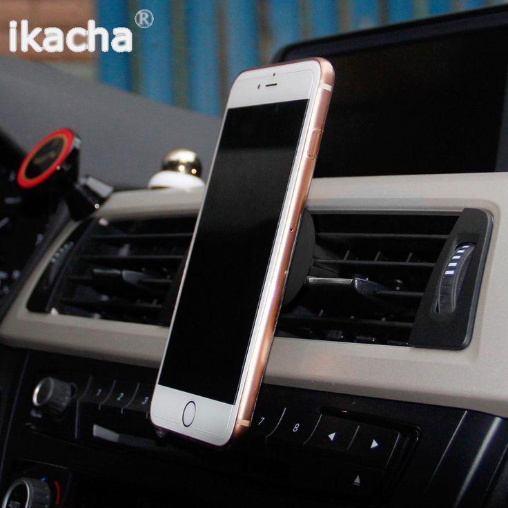 360 Degree Universal Car Holder Magnetic Air Vent Mount Dock mobile phone holder For iPhone 6s Samsung HTC celular carro - http://mixre.com/360-degree-universal-car-holder-magnetic-air-vent-mount-dock-mobile-phone-holder-for-iphone-6s-samsung-htc-celular-carro/ #MobilePhoneHoldersStands