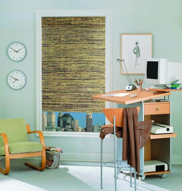 die besten 25 bambusrollo ideen auf pinterest faltrollos raffrollo blickdicht und rollo fenster. Black Bedroom Furniture Sets. Home Design Ideas
