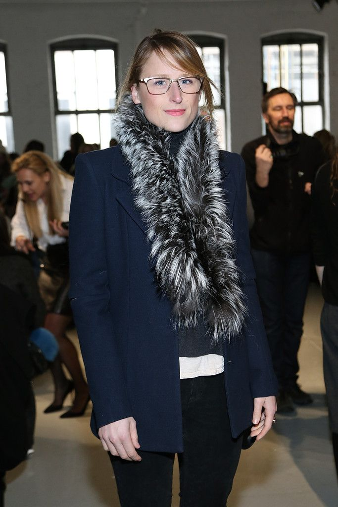 Mamie Gummer Photos: Mamie Gummer - Mamie Gummer attends the Misha Nonoo fashion show during Mercedes-Benz Fashion Week Fall 2015 at Center 548 on February 14, 2015 in New York City.
