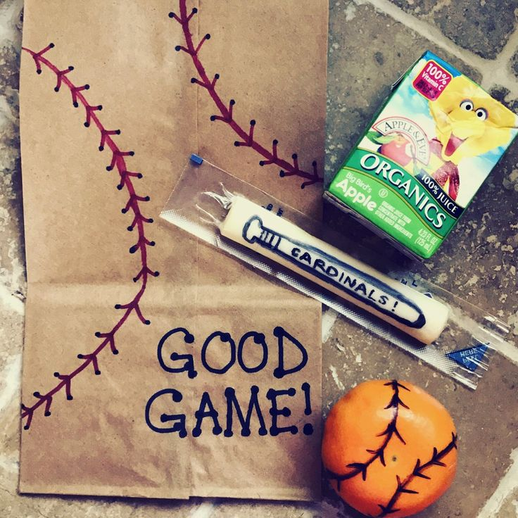 Healthy and fun Tball snacks! Easy DIY