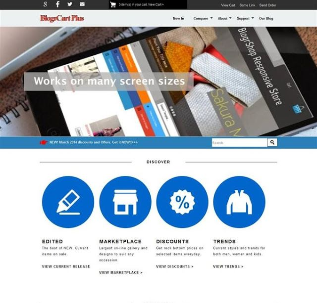 5 Best Free Ecommerce Blogger Templates 2018 For Online Store