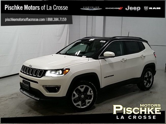 New 2018 Jeep Compass 4WD Limited Sport Utility for sale near you in La Crosse, WI. Get more information and car pricing for this vehicle on Autotrader.