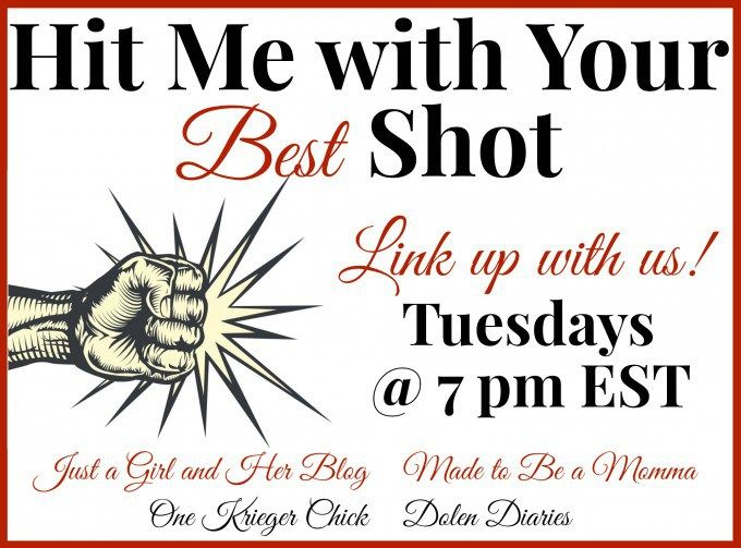 Tuesday link party...stop by at 7:00 pm EST