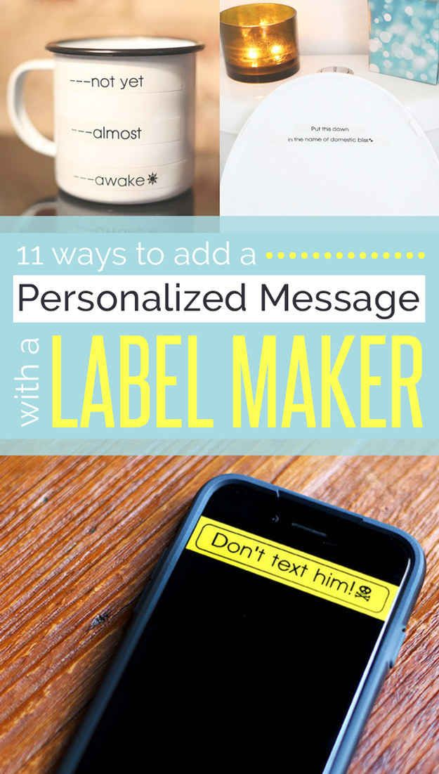 526 best Label Makers images on Pinterest | Label makers, Label ...