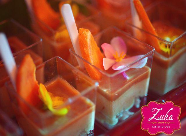 Mélange de chontaduro Desserts petit fours