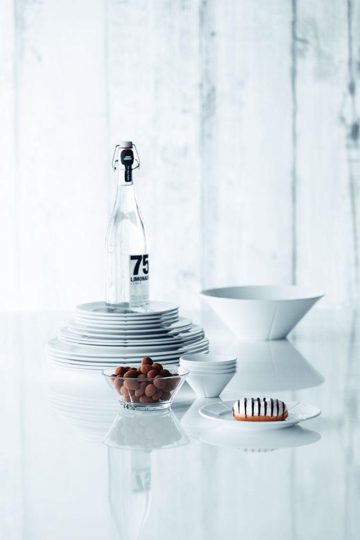 Zastawa stołowa z dekoracyjnym żłobieniem Rosendahl Grandu Cru