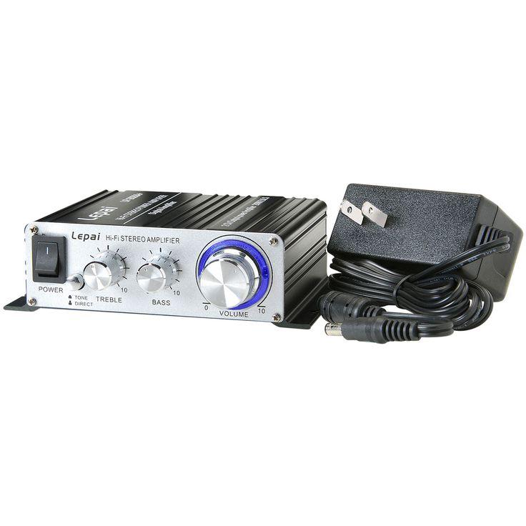 Lepai LP-2020A+ Tripath Class-T Hi-Fi Audio Mini Amplifier with Power Supply