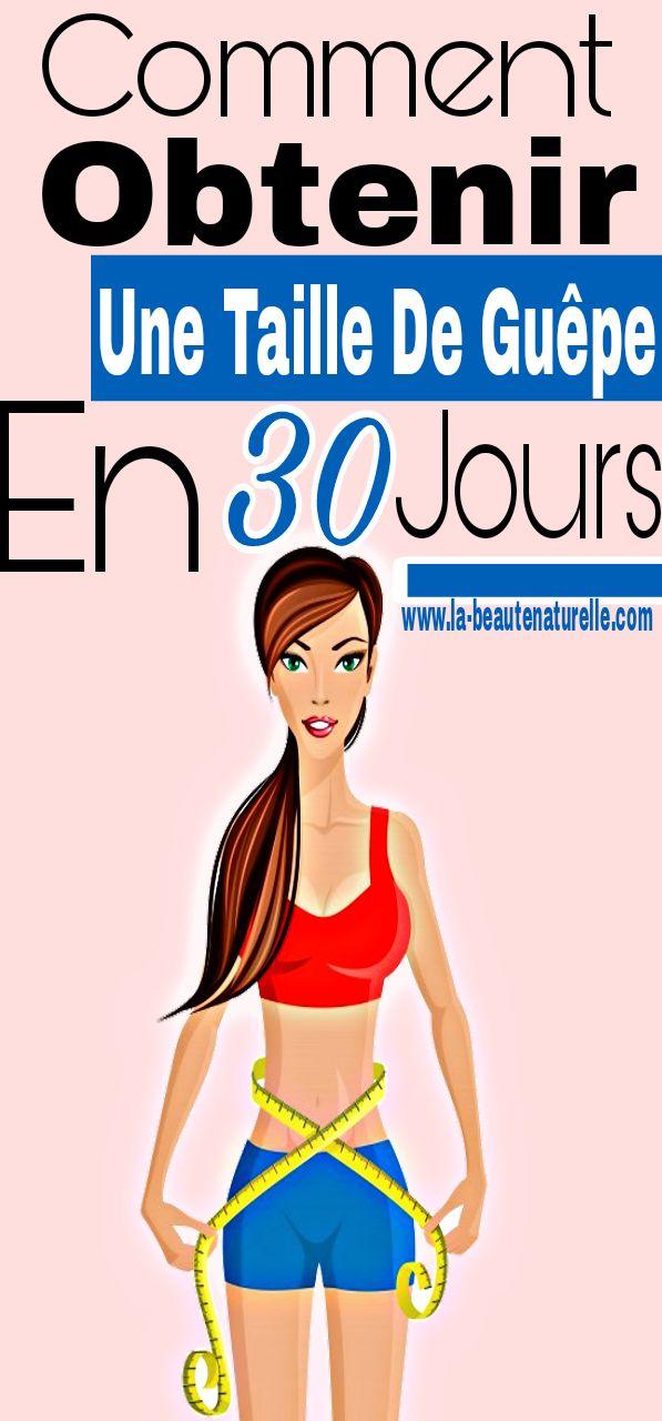 Comment obtenir une taille de guêpe en 30 jours #taille #guêpe | Taille de guepe, Exercices pour ...