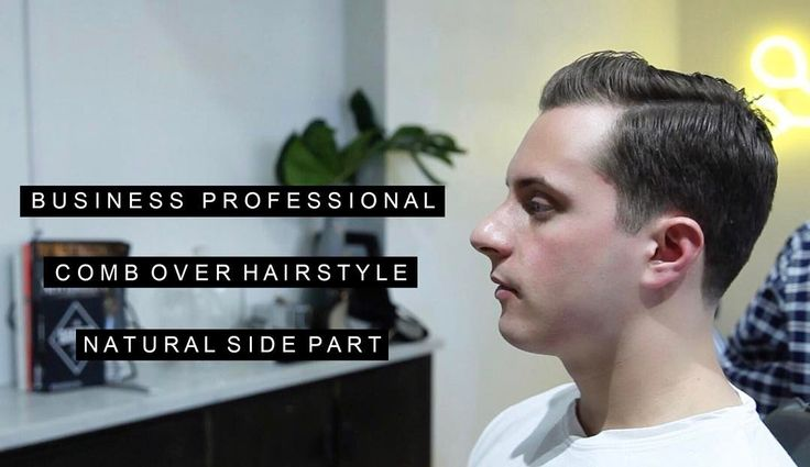 New Video Release x Link in the Bio Watch this week as cut and style our model's hair into a business professional comb over with a side part.  Model: @jmsbrunet Hair: Three Seat Espresso // Chelo  Full Video: https://youtu.be/r-_UBi1imw8