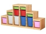 Kids Flea Market Wire Ball Bins - modern - toy storage - - by The Land of Nod  Great for the playroom!