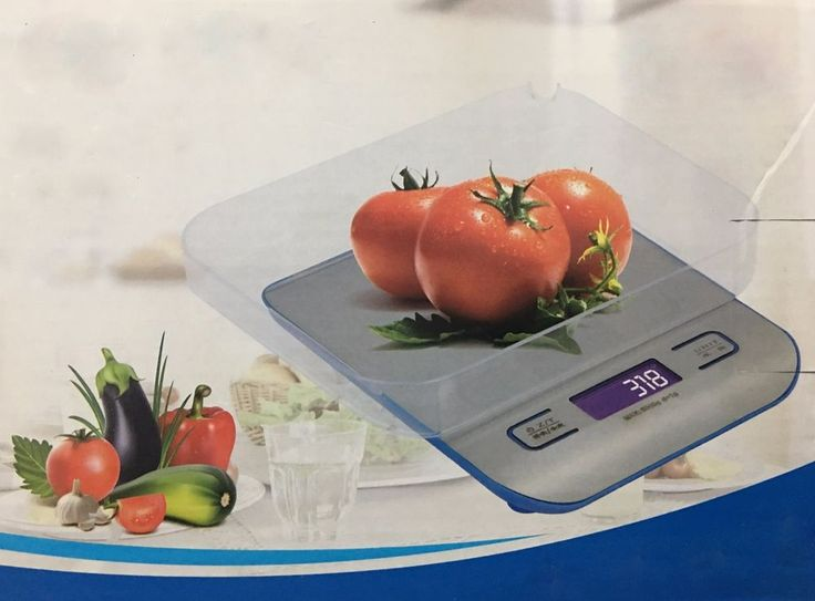 1g to 5kg Digital LCD Electronic Kitchen Scales for Household Weighing Food Cook