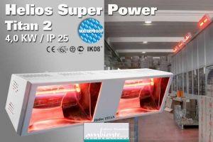 Super Power Infrarot Heizstrahler Helios Titan SP2