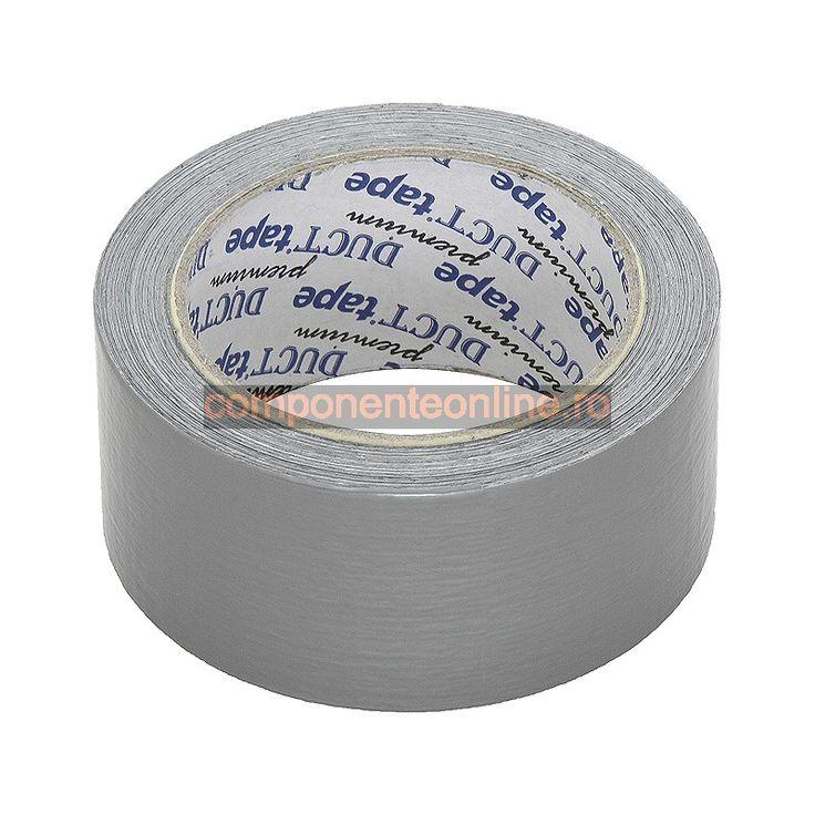Banda izolatoare, argintie, 48mm, 25m - 201266