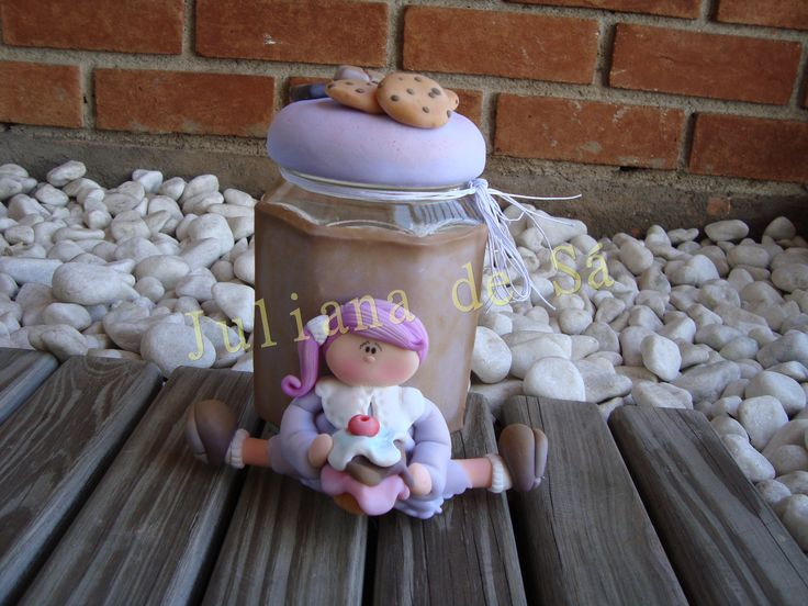 Pote country - Menina adora cookies, cupcakes, chocolate... Ateliê Juliana de Sá e-mail: julianah.sa@hotmail.com
