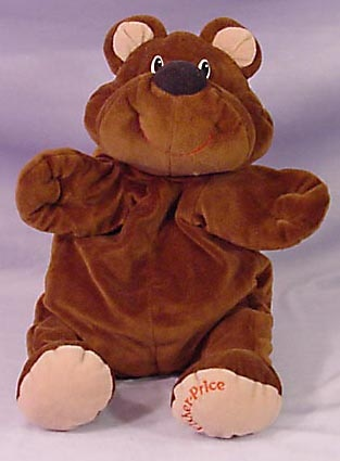 """Floppy"" Rumple Bear- Fisher Price"