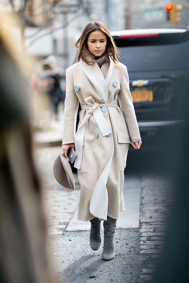 Неделя моды в Нью-Йорке, осень-зима 2016: street style. Часть 1 (фото 4)
