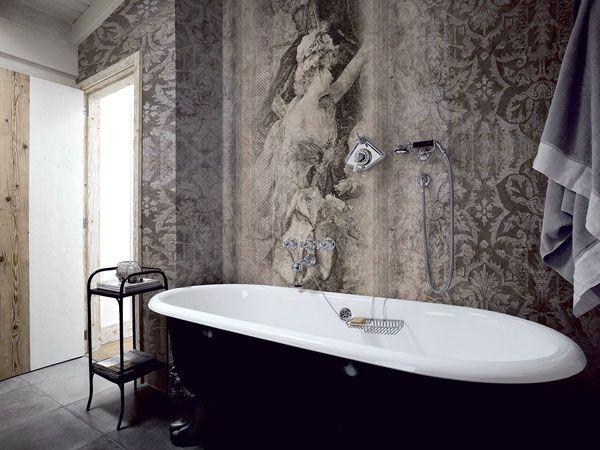 32 besten Wandgestaltung Bilder auf Pinterest Tapeten - wandgestaltung im badezimmer