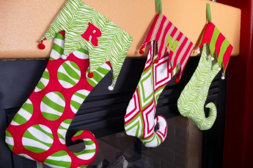 How to Make a Stocking: Christmas Stockings Patterns, Tutorials, Holidays Crafts, Templates, Holidays Idea, Diy'S Christmas, Jingle Belle, How To, Elves