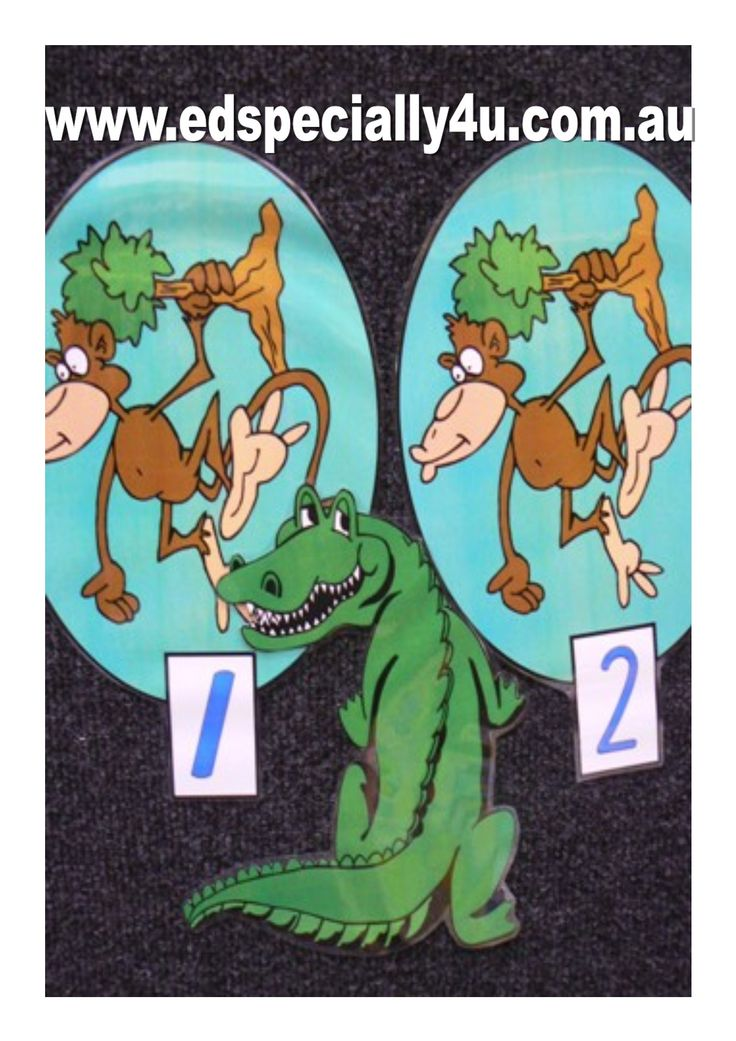 Cheeky Monkeys Swinging in the Trees-a motivating and hands-on learning resource for your music/singing, literacy and numeracy programs.  Visit www.edspecially4u.com.au to see all of our visual singing resources