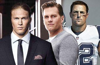 В ожидании Super Bowl: Том Брэди и другие сексуальные игроки в американский футбол