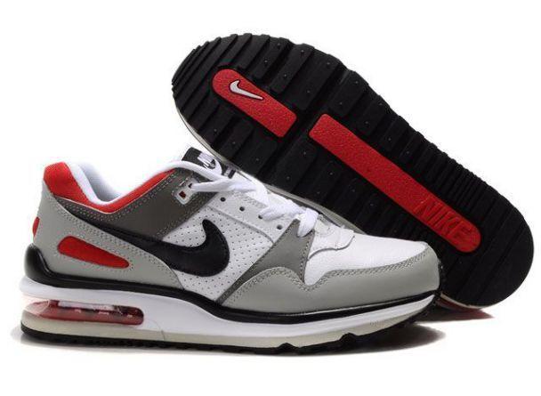 Nike Air Max LTD 4 Mens White Grey Black Red http://www.nikerun ...