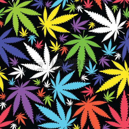 Marijuana leaves Stock Vector