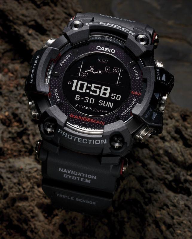 Casio's GPR B-1000 is a Solar-Powered GPS Watch ##watch #watch-accessory #watch-strap
