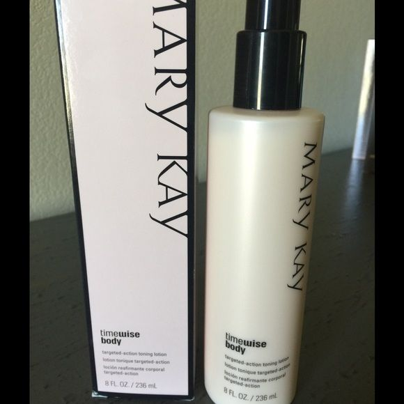 Mary Kay Toning Lotion TimeWise Body Targeted-Action Toning Lotion Mary Kay Makeup
