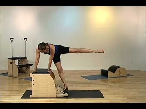 ▶ Moving Breath Pilates Intermediate Chair 2 DVD Sample - YouTube
