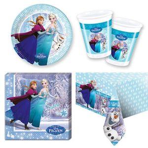 16 Kişilik Frozen Elsa Doğum Günü Parti Seti - Doğum Günü Süsleri   Nice Yaşlara