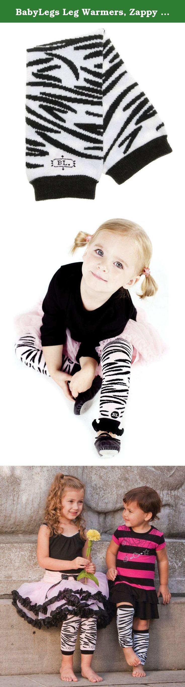 BabyLegs Leg Warmers, Zappy Zebra. BabyLegs Zappy Zebra Leg Warmers .