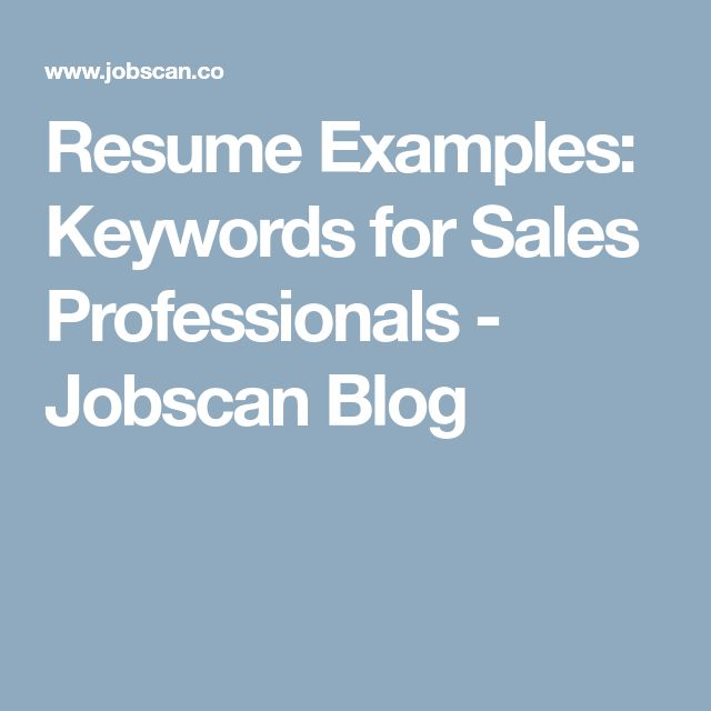 The 25+ best Sales resume ideas on Pinterest Advertising sales - strong words to use in a resume