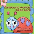 Compound words any way you want them!  At least a week's worth of fun and engaging activities to be done whole group or at workstations.  This pack...