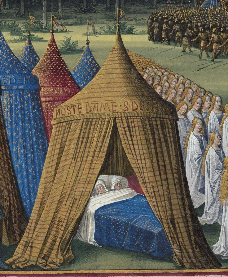« Passages faiz oultre mer par les François contre les Turcqs et autres Sarrazins et Mores oultre marins », traité commencé à être rédigé à Troyes, « le jeudi XIIIIe jour de janvier » 1473, par l'ordre de « Loys de Laval, seigneur de Chastillon en Vendelois et de Gael, lieutenant general du roy Loys l'onziesme... gouverneur de Champaigne... par... SEBASTIEN MAMEROT de Soissons, chantre et chanoine de l'eglise monseigneur Saint Estienne de Troyes » et chapelain de Louis de Laval.   Gallica