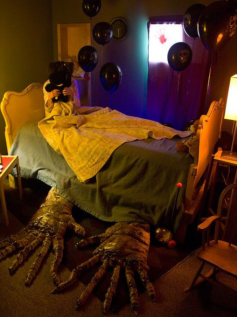 What's under the bed??? #Nightmares #Haunted_House