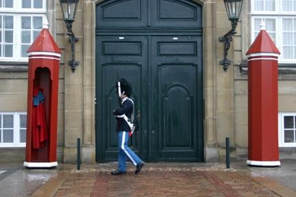Danish Royal Guard, Amalienborg Palace, Copenhagen, Denmark