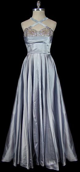 ~1950s Norman Hartnell dress~
