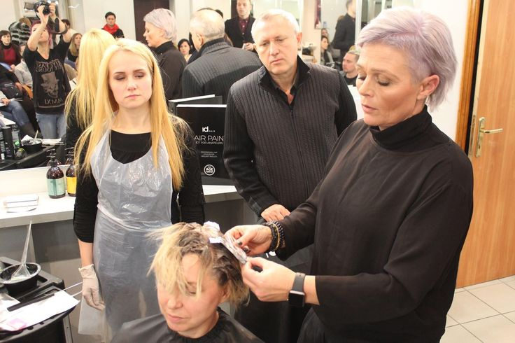 Advance seminar in Ukraine  Idhair hairpaint free