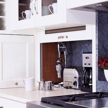 Hidden Kitchen Appliances, Transitional, kitchen, Burns and Beyerl Architects