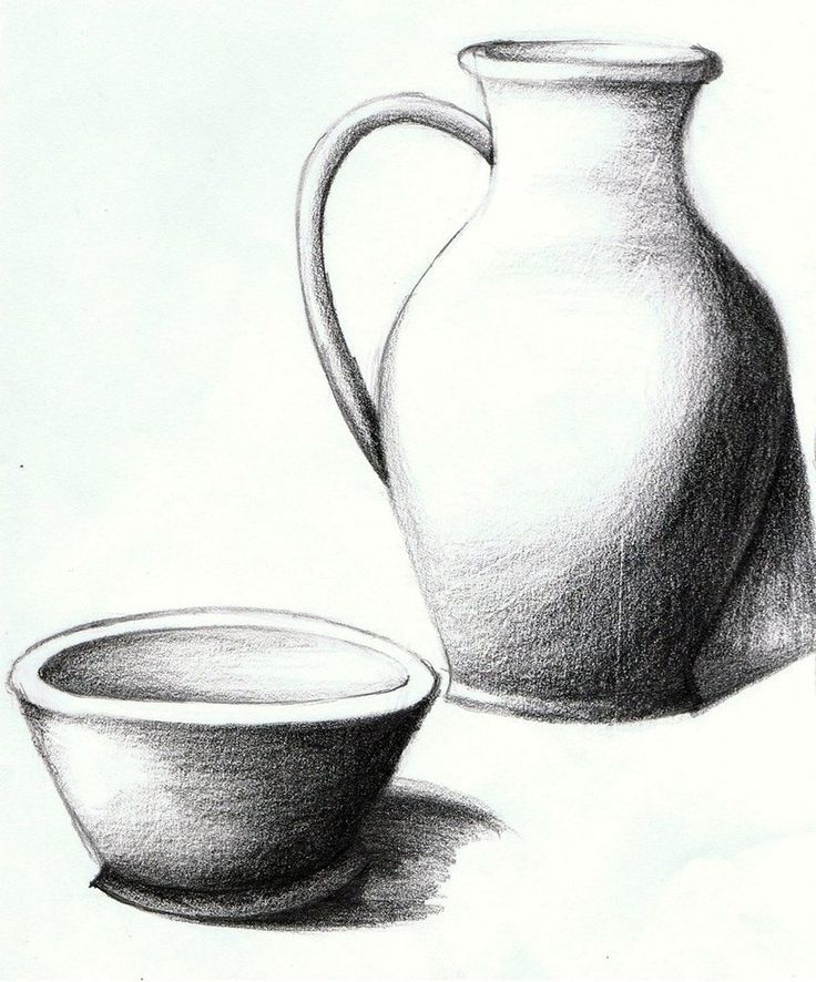 Still Life Drawing - Lessons - Tes Teach  |Pencil Sketch Simple Object