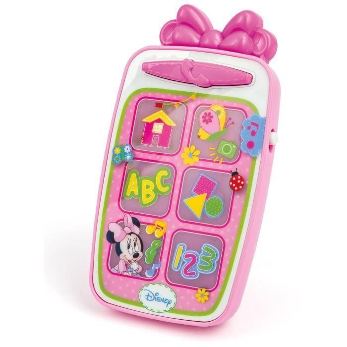 CLEMENTONI Disney Baby – Smartphone Minnie – Jeu d'éveil